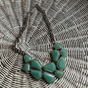 Forever 21 Blue-green Statement Necklace
